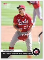 2020 MLB Topps Now Card Of The Month September Trevor Bauer Cincinnati Reds