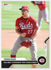 2020 MLB Topps Now Card Of The Month September Trevor Bauer Cincinnati Reds