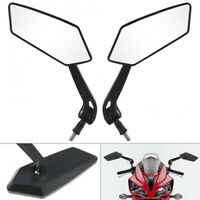 Universal 10mm Pair Motorcycle Motorbike Scooter Rearview Rear View Side Mirrors