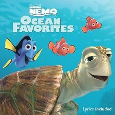 Finding Nemo: Ocean Favorites (LIKE NW CD Disney) Fred Molin, with LYRICS  GREAT