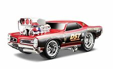 MAISTO 1:24 DISPLAY MUSCLE MACHINES 1966 PONTIAC GTO DIECAST CAR MODEL 35234-Rd