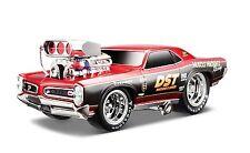 MAISTO 1:24 DISPLAY MUSCLE MACHINES 1966 PONTIAC GTO DIECAST CAR 1PC 35234-RD
