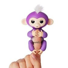 Fingerlings Interactive Baby Monkey Mia Purple By Wowwee