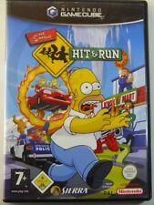 !!! Nintendo gamcube juego Simpsons Hit & Run, usados pero bien!!!