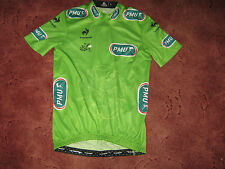 TOUR DE FRANCE 2014 LCS GREEN POINTS CLASSIFICATION CYCLING JERSEY [S] NEW/BGD