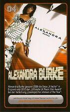 REWE STARZONE Sammelkarte Nr. 04 Alexandra Burke NEU!!!