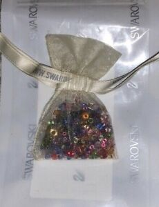Swarovski Tiny Crystals Multi Color Surprise Pouch ~ Gorgeous Stones MIB