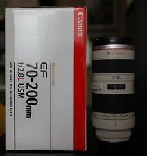 CANON LENS 70-200mm F/2.8 L ULTRASONIC OBIETTIVO x 5D 6D 7D 90D