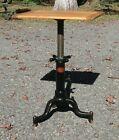 Satellite Adjustable Table Industrial Side Table