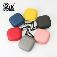 IKSNAIL Earphone Cover Case for Airpods Flash Drive USB-C Cable Carrying Pouch
