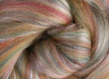 "SILK MERINO Sliver blend by Ashford NZ ""CINNAMON""  for spinning felting 100gms"