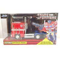 The Transformers Optimus Prime Heroic Autobot Action Figure Jada Toys Hasbro