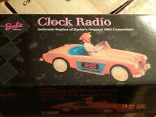 1962 Clock Radio Austin-Healey car, reprodn 1996 nrfb Exact replica Am/Fm,digit