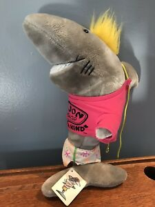 "Vintage Ron Jon Surf Shop Surf Cruiser 17"" Plush Shark Large Stuffed Animal"