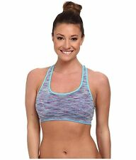 JOCKEY ACTIVE MULTI SPACEDYE SPORTS BRA #8247 ARENA ARENA BLUE MEDIUM NEW! $32