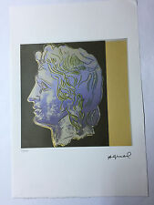 Andy Warhol Lithographie 57 x 38 Arches France Timbre Sec Galerie Art A132