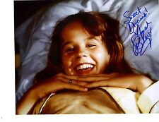 Linda Blair Signiert 8x10 Foto Reagan From The Exorcist - Selten #17