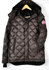 Canada Goose Mens Hendriksen Hooded Insulated Coat 3205M Charredwood Size Small