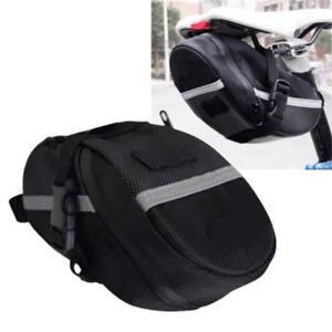 Portable Bike Saddle Bag Cycling Seat Pouch Storage Bike Tail bags Rear Pannier