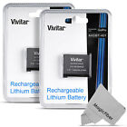 2 Pcs Battery for GoPro HERO4 Black & Silver / AHDBT-401 + MagicFiber Cloth