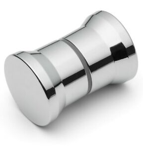 Shower Door Handle/Knob Silver Plastic High Quality L-ABS