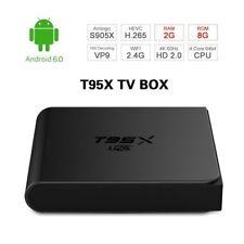 T95X S905X Android 6.0 Smart TV Box Quad Core 2.4G Wifi 2+8GB 3D 4K Media P