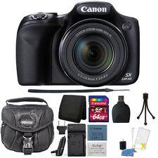 Canon PowerShot SX530 HS 16MP Wi-Fi Digital Camera Accessory Kit & Extra Battery