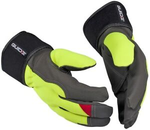 GUIDE 5148W Synthetic Leather Liquid Repellent Winter Gloves - Various Sizes