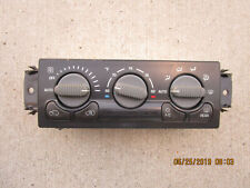 98-02 CHEVY JIMMY BLAZER S10 A/C HEATER CLIMATE TEMPERATURE CONTROL P/N 09356175
