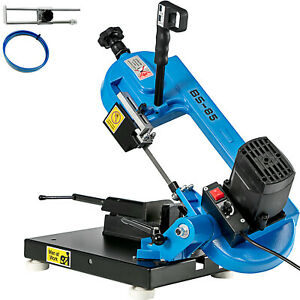 Metal Bandsaw 1000W Variable Speed Cutting Band Saw Low Noise Particular shapes