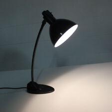 Arbeits Leuchte Bauhaus alte Emaille Schreibtisch  Lampe 30er 40er 50er Jahre