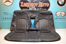 07-09 W211 MERCEDES E320 E350 E550 REAR SEAT UPPER & LOWER LEATHER SKIN BLACK #2