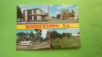 OLD 1970s AUSTRALIAN POSTCARD, BORDERTOWN SOUTH AUSTRALIA, VIEW OF THE TOWN