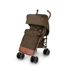 Ickle Bubba Discovery Max Stroller in Khaki on Rose Gold – Pram Buggy