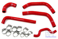 HPS Reinforced Silicone Radiator Hose Kit - KX250F Racing Dirt Bike 09-10 Red