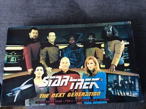 Star Trek The Next Generation Board Game : 1992 : Complete Unused