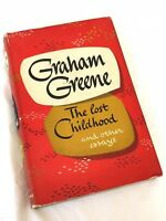 Graham Greene ~ The Lost Childhood ~ 1951 1st Edition Hardcover  + Dustjacket