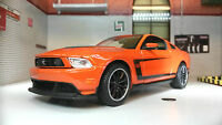 Ford Mustang 2012 Boss 302 Coupe 1:24 Scale Diecast Maisto Model Car 31269