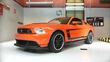 Ford Mustang 2012 Boss 302 Coupe 1:24 À L'échelle Miniature Maisto
