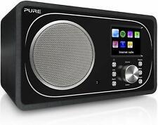 Pure Evoke F3 Internet DAB/DAB+ Digital and FM Radio Spotify Bluetooth Black