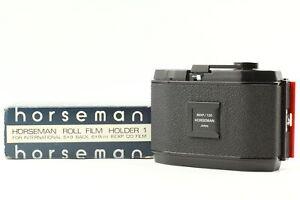 [N.MINT+++ in Box]  Horseman 8EXP 120 Roll Film Back Holder 6x9 For 4x5 JAPAN