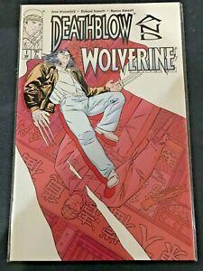 Deathblow and Wolverine 1-2 - MARVEL / IMAGE Comics - 1996 - Near Mint