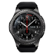 Samsung Gear S3 Frontier LTE -  (AT&T) - Black Leather Strap - VGC