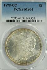 1878-CC Morgan Dollar : PCGS MS64