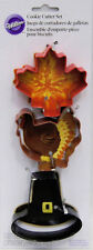 Thanksgiving Metal Cookie Cutter Set 3 pc from Wilton #2016 - NEW