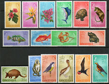 Grenada 1968 QEII set of 16 to $5  MNH