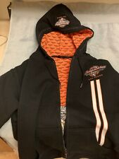 Genuine Harley-Davidson Las Vegas Cafe Hooded Jacket XL New No tags. Embro