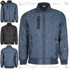 Unbranded Collared Zip Coats & Jackets for Men Quilted