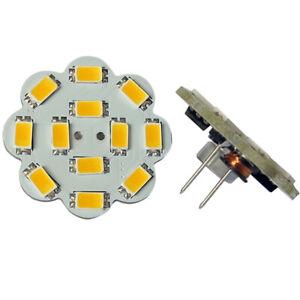 G4 12*5630 SMD LED 9-24V AC/DC 280LM WHITE (6000K) Warm White (3000K) BULB ~35W