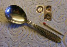 W&S Sorensen 830er dänisches Silber - Karina - Zuckerlöffel